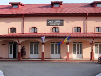 Căminul Cultural Cumpăna. FOTO Adrian Boioglu