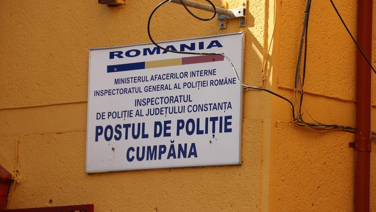 Poliția Cumpăna. FOTO Adrian Boioglu / Cumpaneni.ro