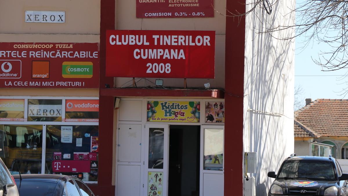 Clubul Tinerilor din Cumpăna. FOTO Adrian Boioglu / Cumpaneni.ro