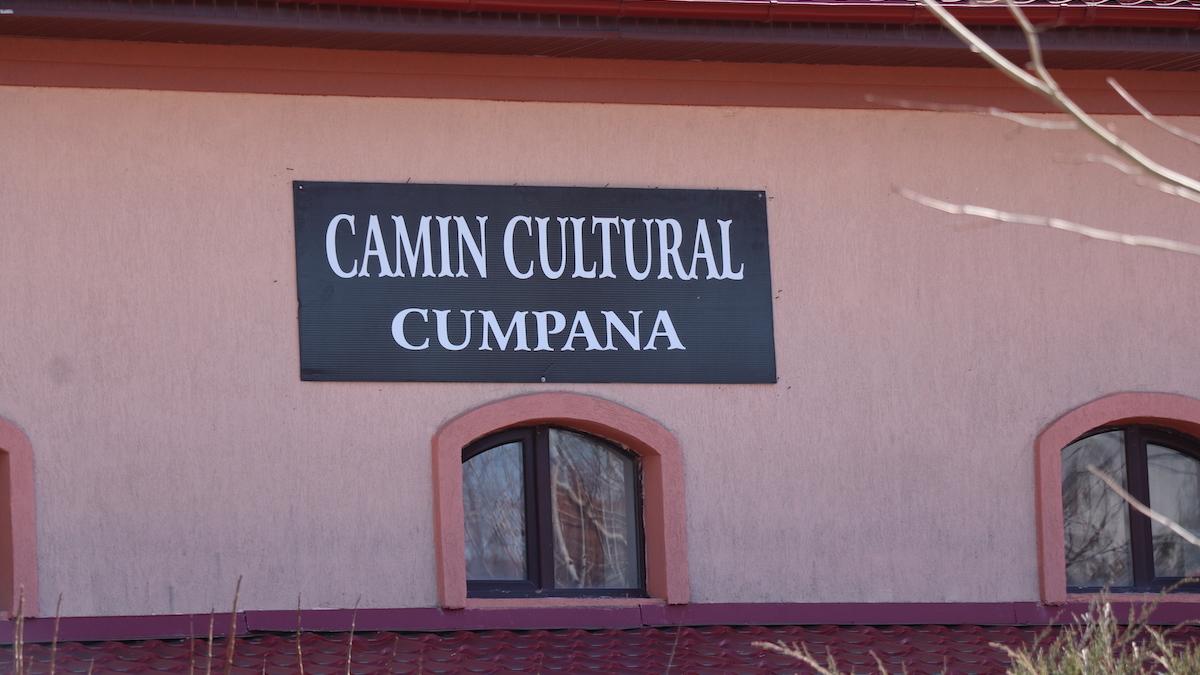 Căminul cultural Cumpăna. FOTO Adrian Boioglu / Cumpaneni.ro