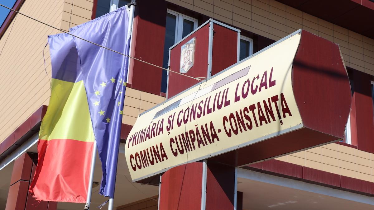 Primăria Cumpăna. FOTO Adrian Boioglu / Cumpaneni.ro