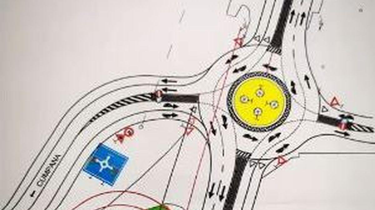 Schema proiect pentru lațirea cu două benzi pe DN39E din Cumpăna