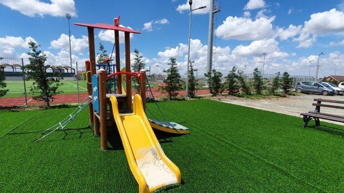 Loc de joacă în Cumpăna. FOTO Cumpăna News