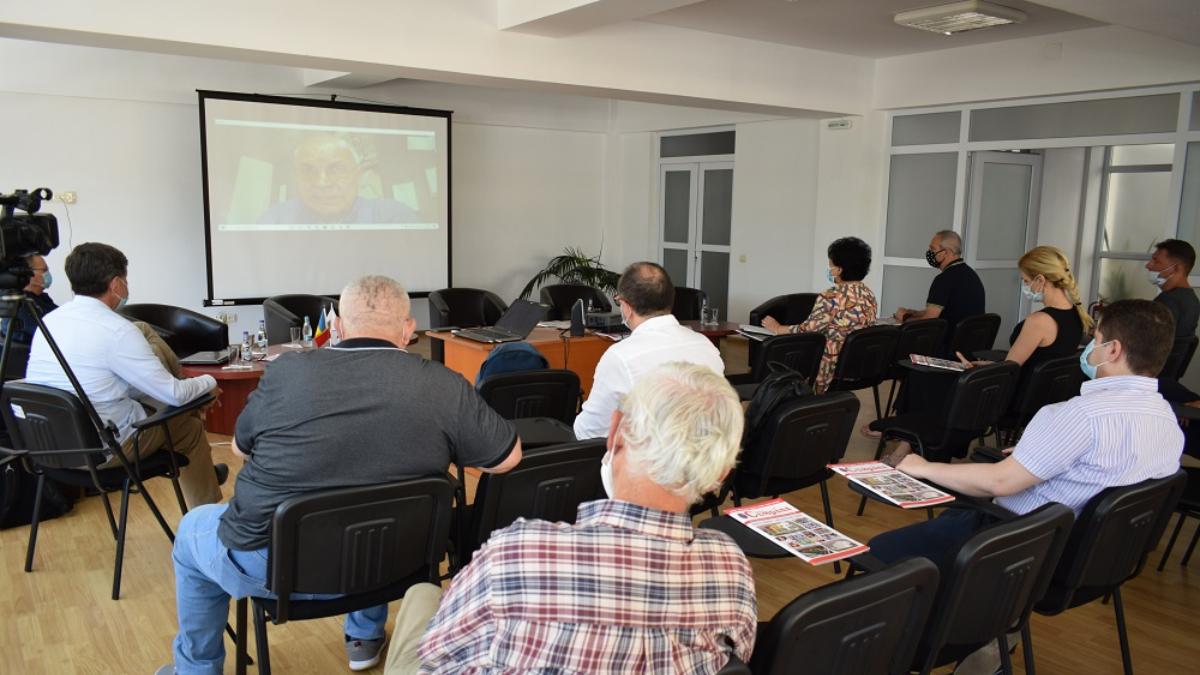 Întâlnire de lucru a comunității de afaceri din Cumpăna și colaboratori ai Clusterului MEDGreen