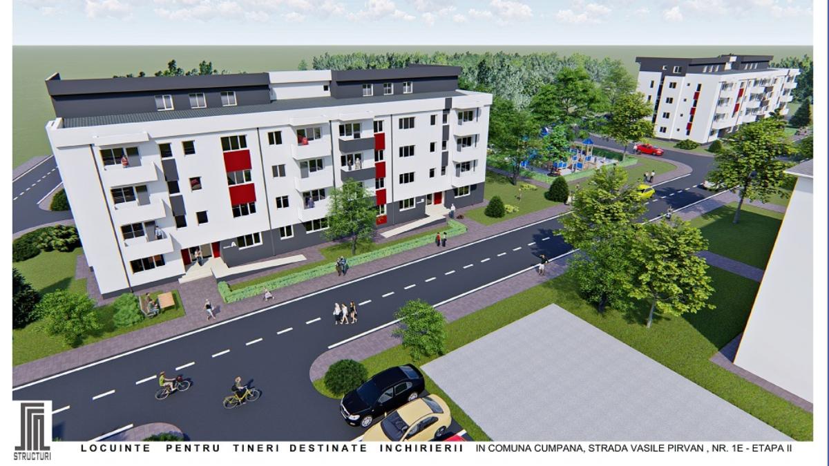 Inaugurare lucrări de construcție bloc ANL