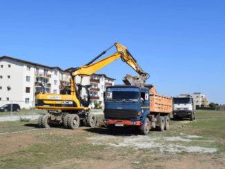 """Obiectivul de investiții """"Locuințe pentru tineri destinate închirierii P+3E+M – 64 UL"""" (4 tronsoane), strada Vasile Pârvan, nr.1E – etapa a II A"""